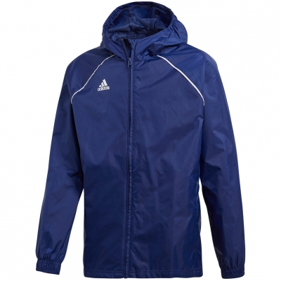 Jacheta adidas Core 18 Rain JR dark blue CV3742 adidas teamwear