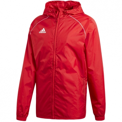 Jacheta adidas Core 18 Rain red CV3695 adidas teamwear
