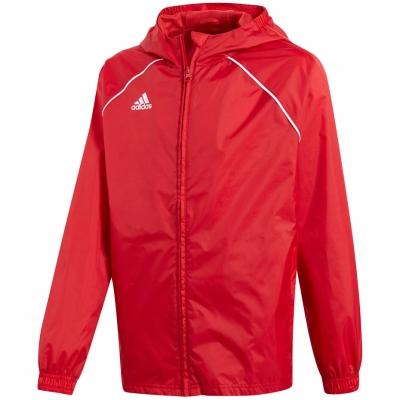 Jacheta adidas Core 18 Rain JR red CV3743 adidas teamwear