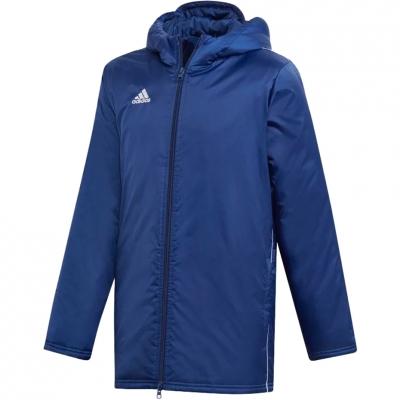 Jacheta 's adidas Core 18 Stadium navy DW9198 copil copil adidas teamwear
