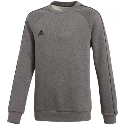 Bluza trening adidas Core 18 JR gray CV3969 adidas teamwear