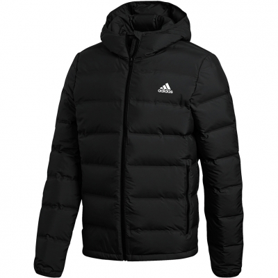 Jacheta Adidas Helionic Ho men's black BQ2001