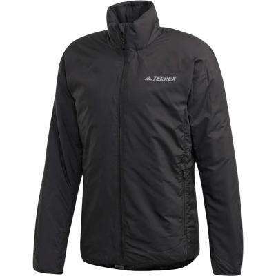Jacheta Adidas TERREX Insulation men's black DZ2049