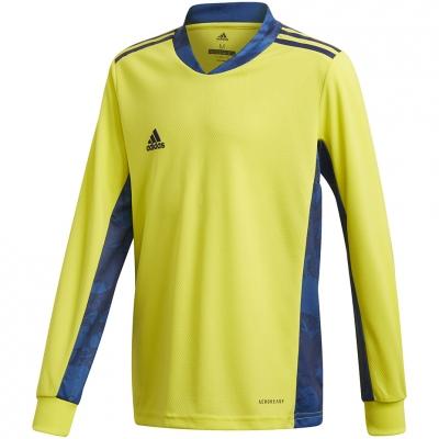 Jacheta Portar adidas AdiPro 20 Portar Jersey Youth Longsleeve yellow-blue FI4199 adidas teamwear