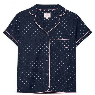 Camasa Pijama Jack Wills Artar Polka Dot