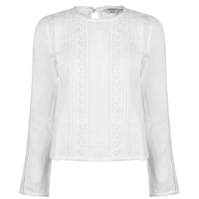 Jack Wills Marygold Maneca Lunga Lace Top