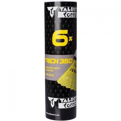 Darts for game in badminton Talbot Torro Tech 350 6 PCs yellow 479103