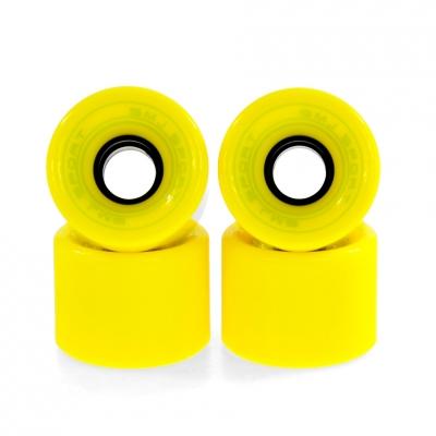 KKA SMJ DO DESKOROLKI PLASTIKOWEJ 60x45mm / 4pcs / yellow