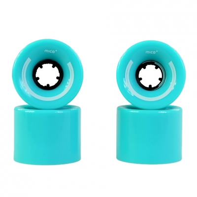 MICO WHEELS FOR PLASTIC PLASTIC 60x45mm 4 Blue