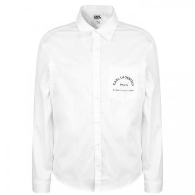 Camasa Karl Lagerfeld Logo Skool Pocket baietel