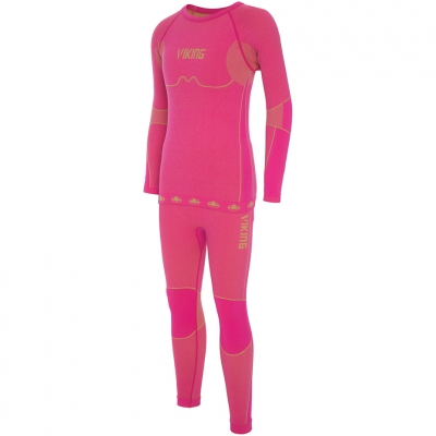 Thermoactive underwear for Viking Riko pink 500-14-3030-48 copil