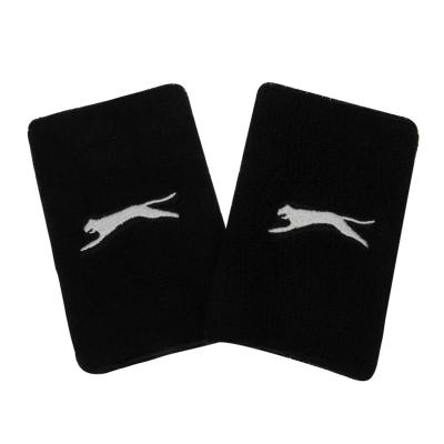 Slazenger 2 Pack Double Wristbands