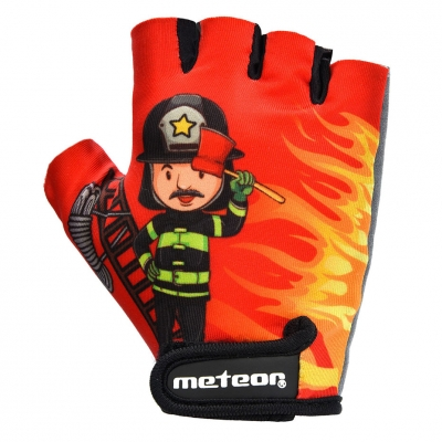 Manusa box cycling Meteor Firefighter Jr red 26125-26126 copil