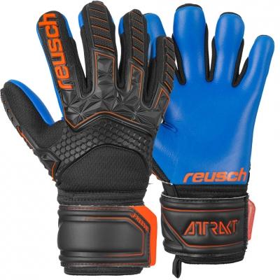 Manusa Portar Reusch Attrakt Freegel S1 Finger Support black and blue 5072238 7083 copil