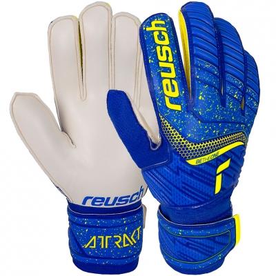 Manusa Portar Reusch Attrakt Solid blue-white e 5170 515 4940