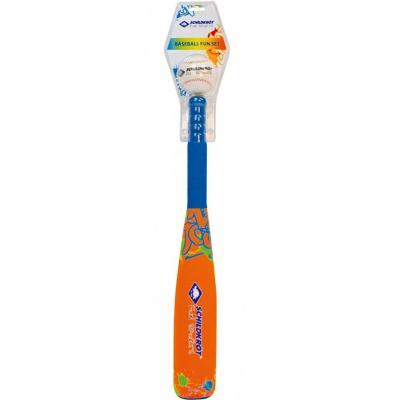 Baseball stick Schildkrot neoprene with orange ball 970224
