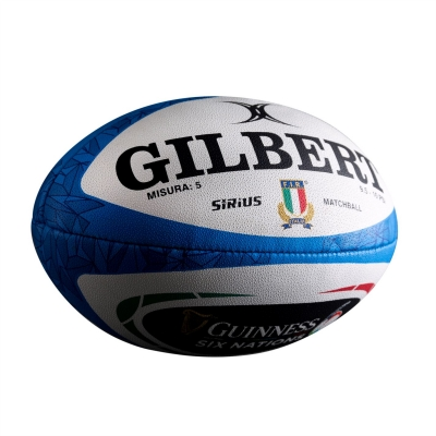 Gilbert Italy 6 Nations Rugby Ball
