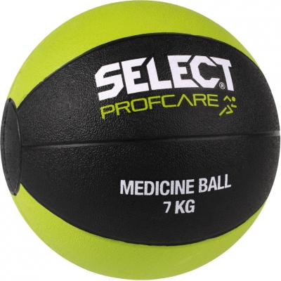Medical ball Select 7 kg 2019 black and lime 15737