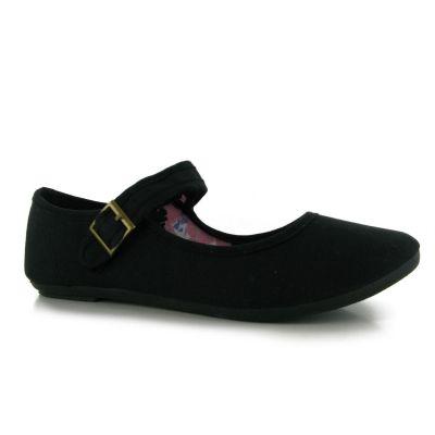 Pantofi Pantofi din panza cu bareta Miss Fiori pentru Dama