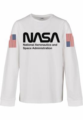 NASA Worm Longsleeve copil Mister Tee