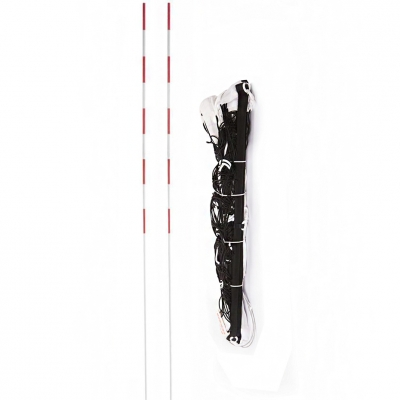 VOLLEYBALL NET WITH NETEX IV ML ANTENNA black SI0009