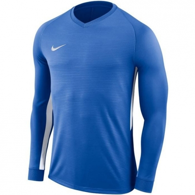 Men's Nike Dry Tiempo Premier Jersey LS Blue 894248 463