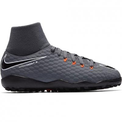 Gheata Minge Fotbal Nike Hypervenom Phantom X 3 Academy DF TF JR AH7293 081
