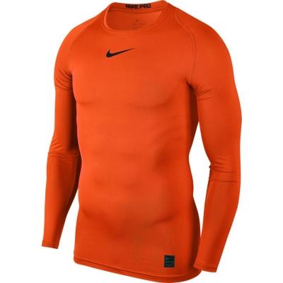 Camasa T- Nike Pro Top Compression LS orange 838077 819