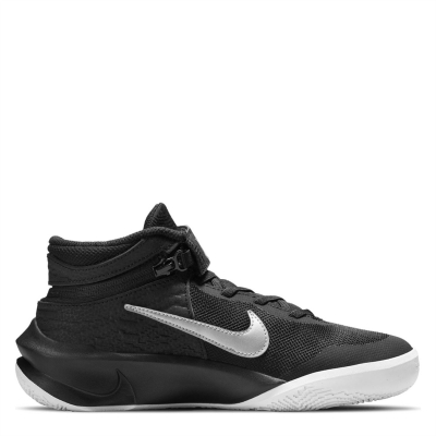 Pantof sport Minge Baschet Nike Team Hustle D 10 FlyEase Big copil