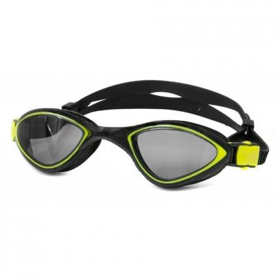 Goggles Aqua-Flex speed black-and-yellow number 18 Aqua-Speed