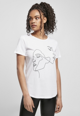 Tricou One Line Fit dama Mister Tee