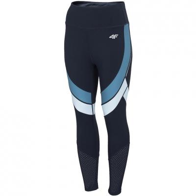 Pantalon 's 4F navy blue H4Z20 SPDF015 31S dama