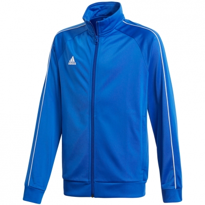Bluza trening adidas Core 18 Pes JR blue CV3578 adidas teamwear