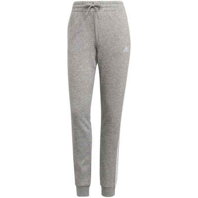 Pantalon 's adidas Essentials Slim Tapered Cuffed gray GM8735 dama