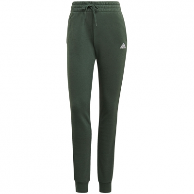 Pantalon 's adidas Essentials Slim Tapered Cuffed green GM8734 dama