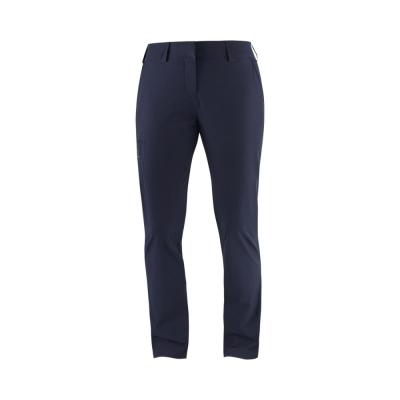 Pantaloni Drumetie Femei Salomon WAYFARER PANTS W REGULAR Bleumarin