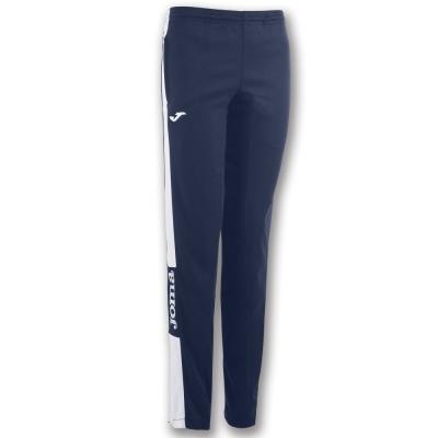 Pantalon Long Champion Iv Navy-white dama Joma