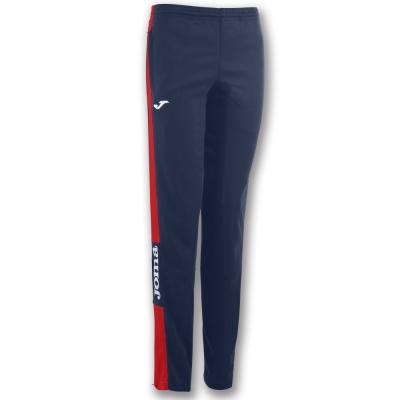 Pantalon Long Champion Iv Navy-red dama Joma