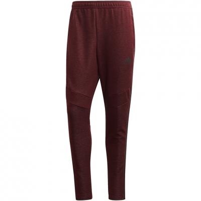 Pantalon Pantalon Adidas Tiro 19 French Terry dark red FP8043 adidas teamwear