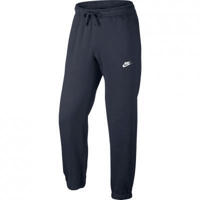Pantalon Pantalon Men's Nike M CF FLC Club navy 804406 451