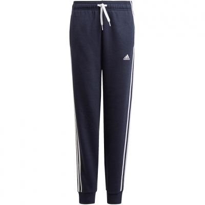 Pantalon Pantalon for adidas Essentials 3 Stripes navy blue GQ8898 copil