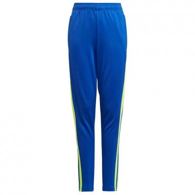 Pantalon Pantalon for adidas Squadra 21 Training Youth blue-yellow GP6449 copil adidas teamwear