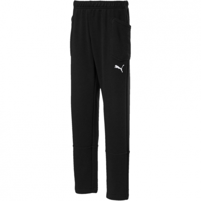 Pantalon Pantalon Combat for boy Puma Liga Casuals black 655635 03