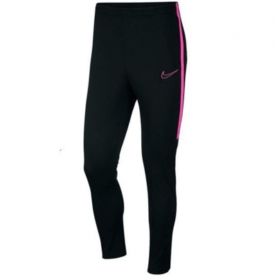 Pantalon Pantalon Men's Nike Dri-FIT Academy black pink AJ9729 017