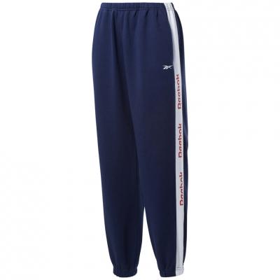Pantalon Reebok 's Te Linear Logo navy blue FU2252 dama