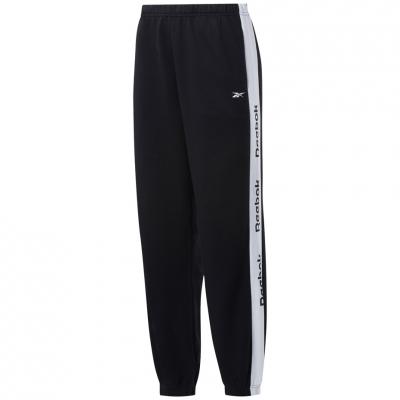 Pantalon 's Reebok Te Linear Logo Fl black GH7475 dama