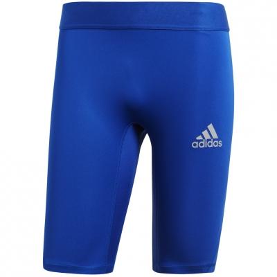 Pantalon scurt Combat Adidas Alphaskin Sport Short Tight blue CW9458 adidas teamwear
