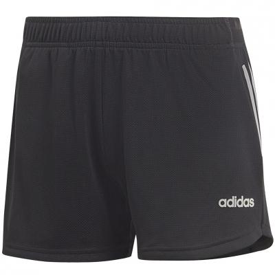 Pantalon scurt Combat 's adidas D2M 3-Stripes Knit black DS8725 dama