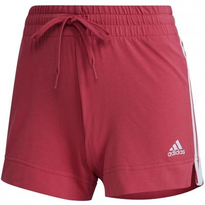 Pantalon scurt Combat 's adidas Essentials Slim Short burgundy GM5530 dama