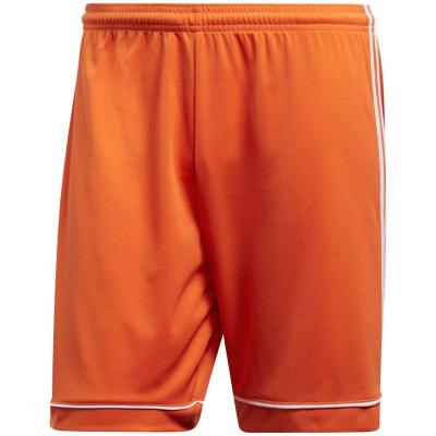 Pantalon scurt Combat Adidas men's Squadra orange 17 BJ9229 adidas teamwear